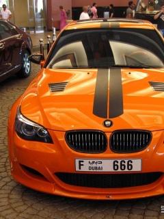 Ещё одни обои на автомобильную тематику. Картинка BMW M5